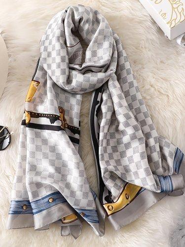 Checkered/plaid Scarves & Shawls