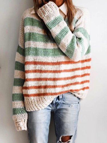 Women Casual Tops Tunic Sweater