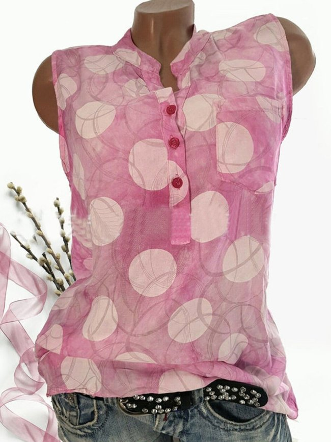 Square Neck Silk Sleeveless Shirts & Tops
