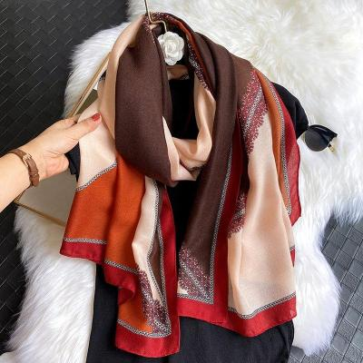 Luxury Boho Women Cotton Scarf