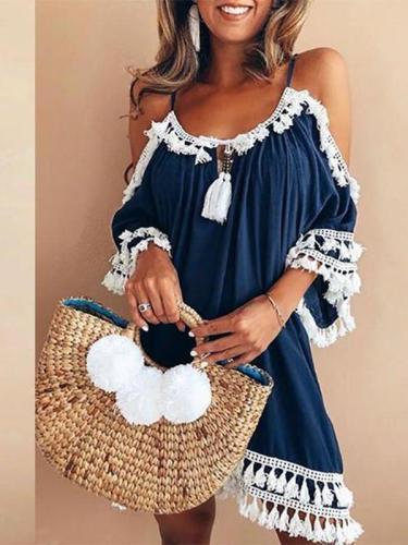 Bohemian Casual Plus Size Dress