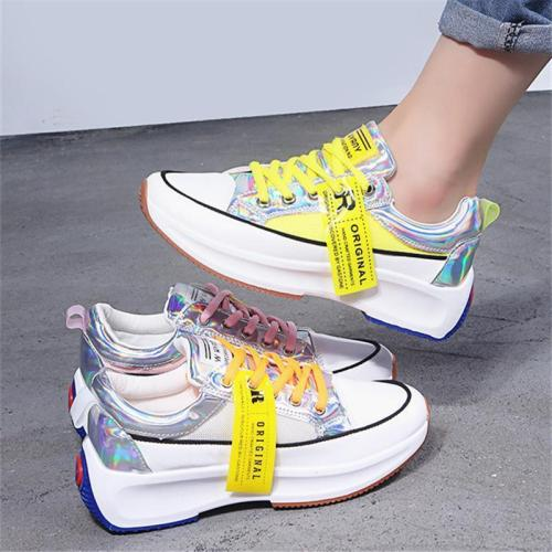 Women's Fashion Casual Mesh Breathable Colorful Sneakers