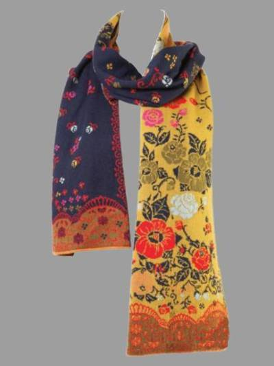 Floral Cotton-blend Scarves