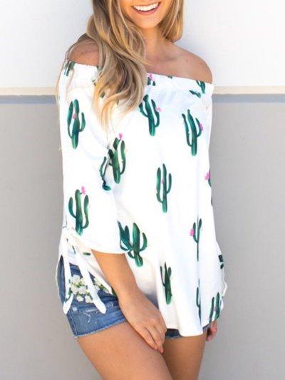 White Short Sleeve Cotton Shirts & Tops
