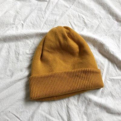 Autumn Winter Warm Thick Woolen Cashmere Cap Knitted Outdoor Women Ski Hat Headwear Warm Wraps