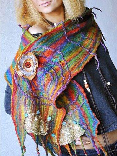 Knitted Vintage Scarves & Shawls