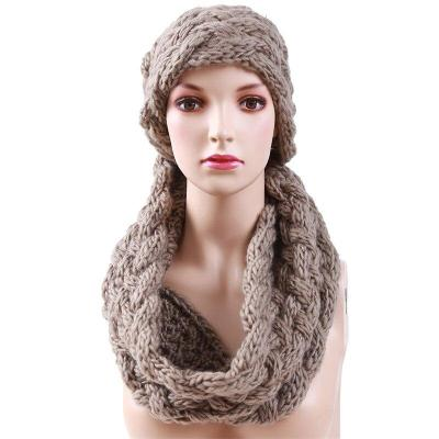 Knitted Scarf Women Soft Winter  Scarves Cashmere Scarf