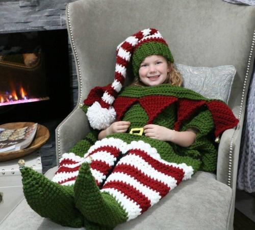 Parent-Offspring Christmas Hat