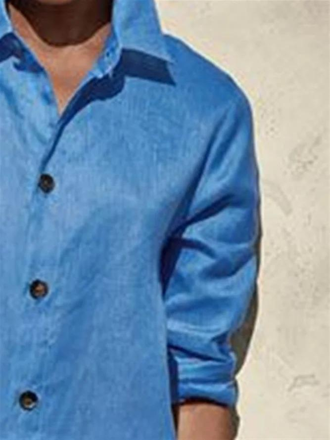 Casual Basic Daily Long Sleeve Blouse