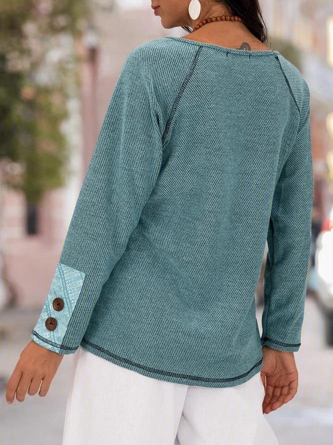 Casual Long Sleeve Shirts Blouses