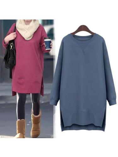 Hoodie  Casual Solid  Fall Dress