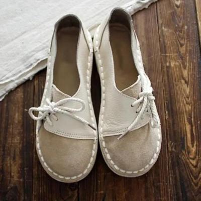 All Season Other Shoes Vintage Round Toe Brown Flats