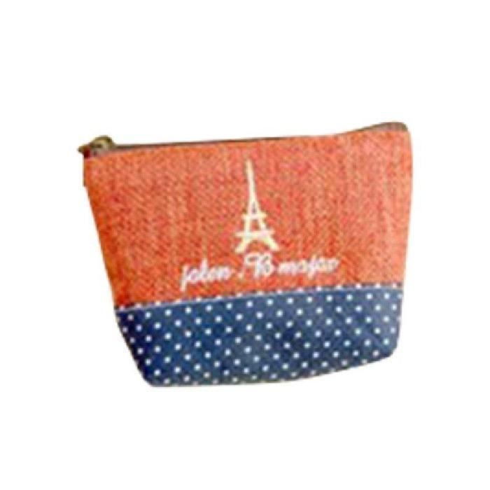 Pastoralism Coin Bag Cotton & Linen Creative Canvas Small Coin Purse Key Bag