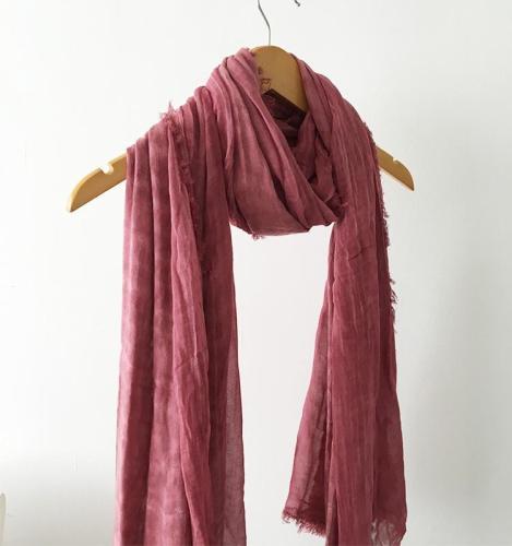Linen Scarf Women Super Large Thin Silk Scarves Female Spring Winter Shawl