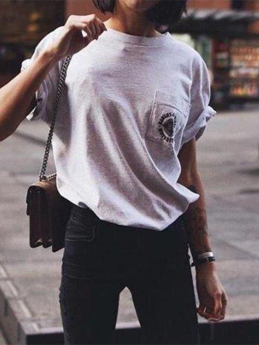 Short Sleeve Casual Pockets Shirts