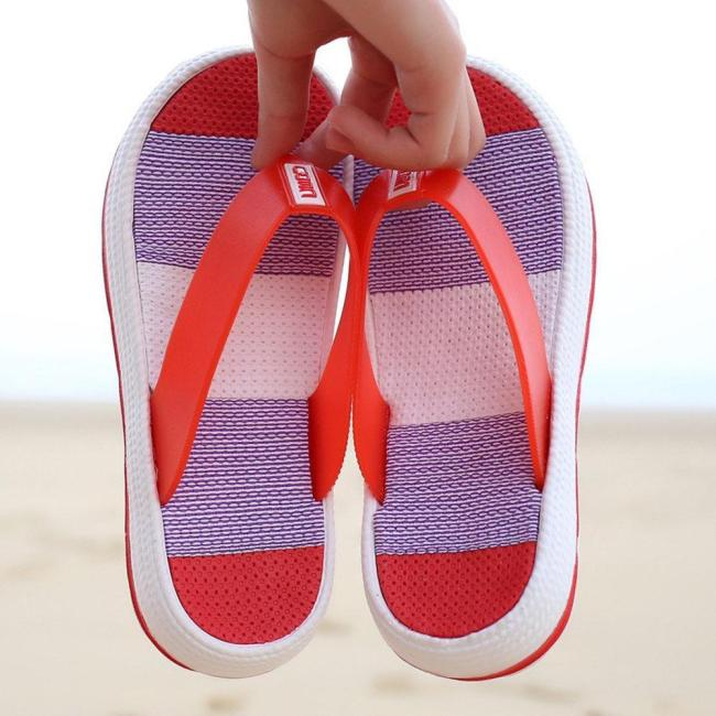 Flip Flops Platform Clip Toe TPU Home Beach Slippers