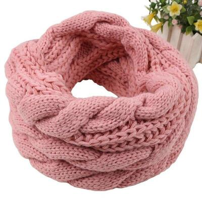 Ladies Warm Snood Scarf Knitted Soft Winter Infinity Scarves Cashmere Neck Circle Scarf