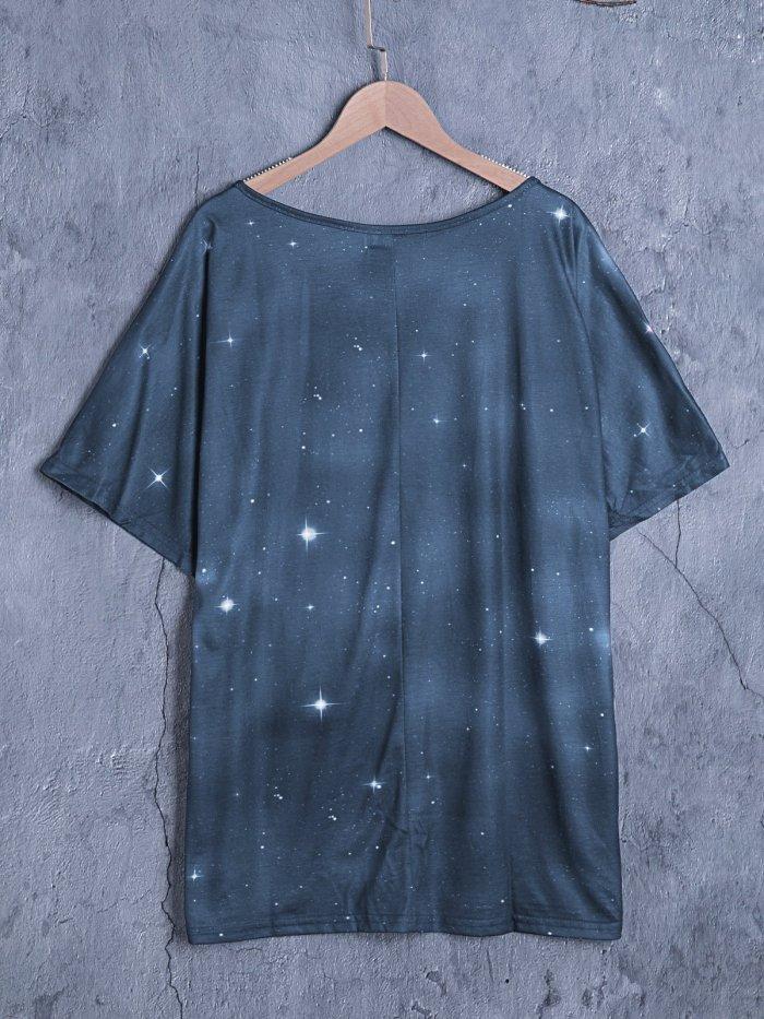 Cotton Short Sleeve Crew Neck Shirts & Tops