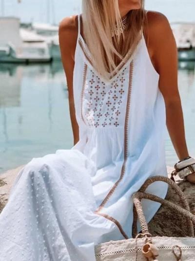 Embroidered Sexy Dresses