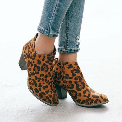 Closed Toe Chunky Heel Med (3-8Cm) Boots