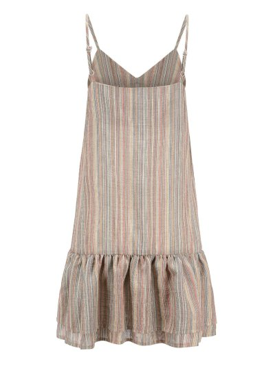 Pink Striped Holiday Cotton Dresses