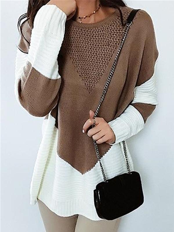 Beautyful Warm Long Sleeve Knitted Sweaters
