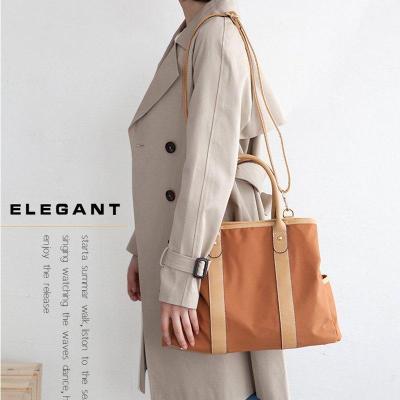 Simple Multifunctional Waterproof Oxford cloth Slung Shoulder Commuter Handbag