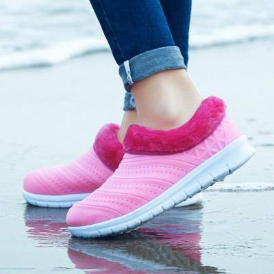Women Snow Waterproof Loafers Booties Casual Shoes