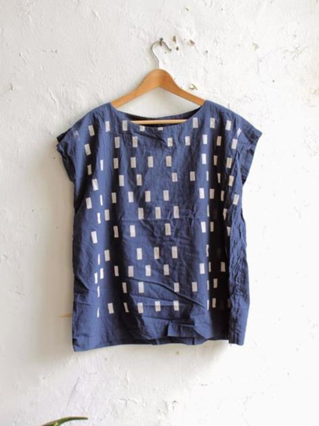 Casual Short Sleeve Printed Round Neck Shirts