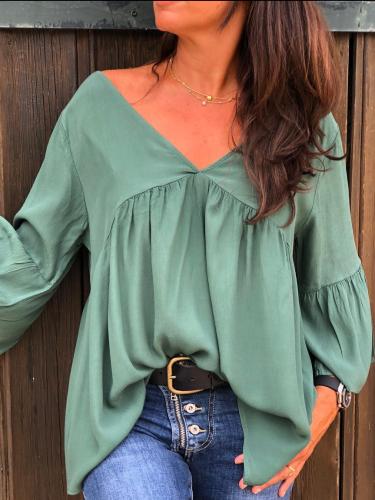 Long Sleeve Plus size Casual Shirt