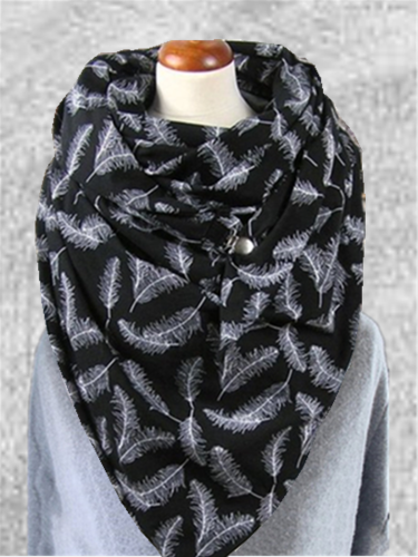 Casual Basic Daily Printed Scarves & Shawls