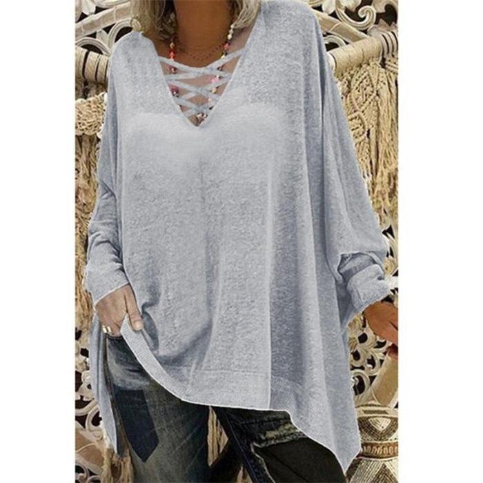 Fancy Clothing Sexy Long-sleeved Bat Shirt T-shirt