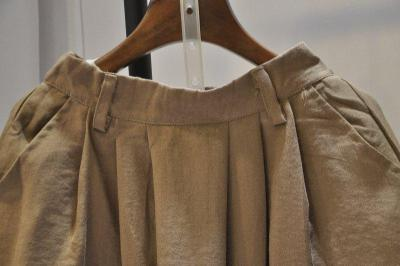 Coffee Summer Casual Solid Cotton Pants