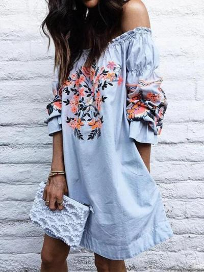 Boho Floral Dresses