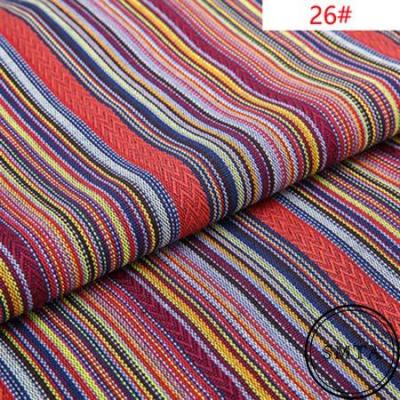 New 100X150CM Polyester/Cotton Fabric Ethnic Decorative Fabrics For Sofa Cover Cushion Cloths Curtains 36 Styles Free Shipping