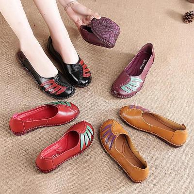 Women Flats Casual Slip On High Quality Shoes