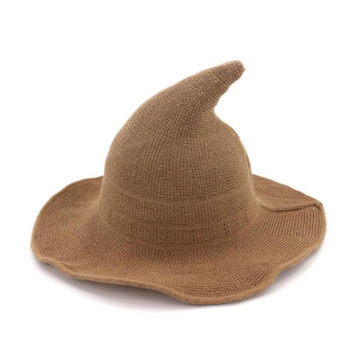 Pointed Cotton Yarn Witcher Hat Fisherman Hat