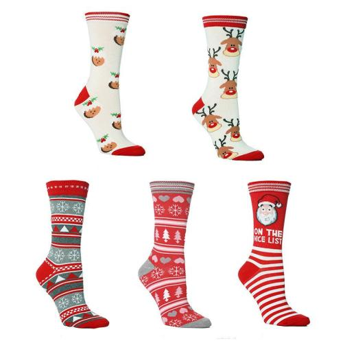 Christmas Socks NEW Elk Men's and Women's Stockings