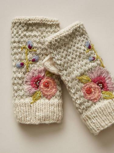 Floral Gloves & Mittens