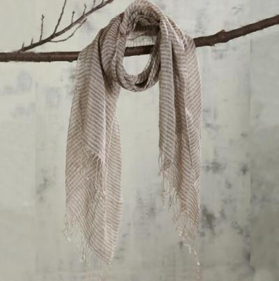 100% Linen Black Plaid Tassel Woman Scarf Hijab Foulard Shawls Scarves Women For Spring and Autumn