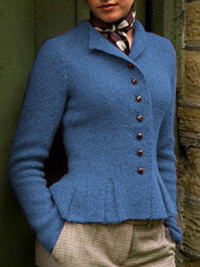Women Buttoned Vintage Sweater Cardigans