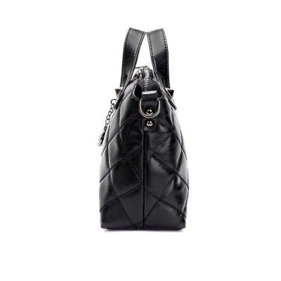 Women Elegant Black Zipper  Cross-body Bags