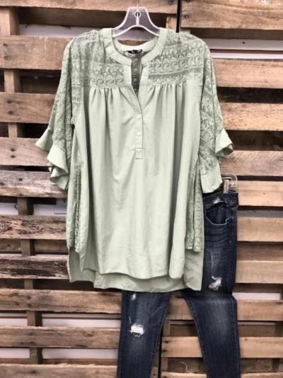 Shift Half Sleeve Shirts & Tops