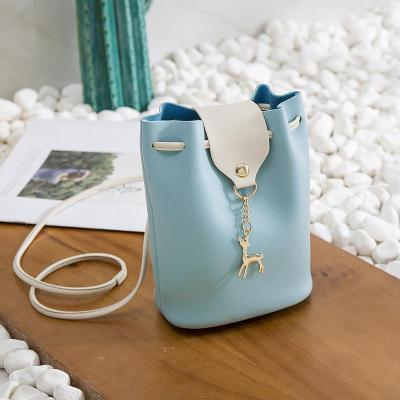 Bag - Women Casual Little Phone Purse PU Multi-functional Crossbody Shoulder Bag