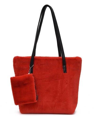 Cotton Zipper Shoulder Bags