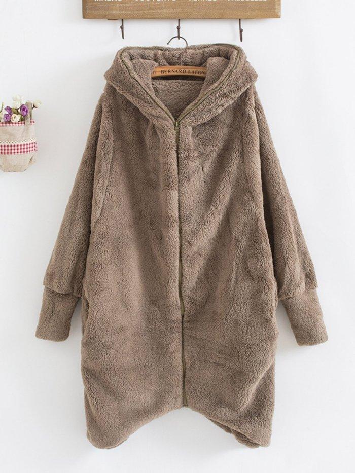Hoodie Casual Asymmetric Hoodies & Sweatshirt