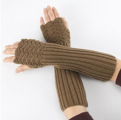Wild Braided Long Gloves Five Colors