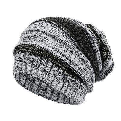 Winter Couple Crochet Knitted Hat Caps women  Wool Fur Pompom Beanies Hats