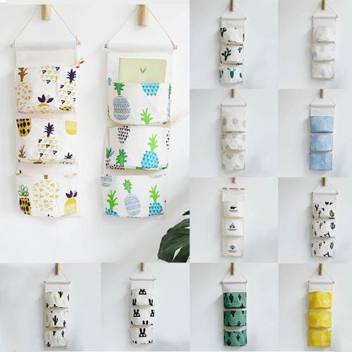 Cotton Linen Makeup Cosmetic Pouch Sundries Organiser