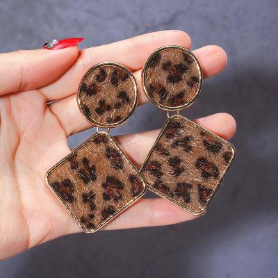 New Leopard Earrings Stylish Feminine Earrings